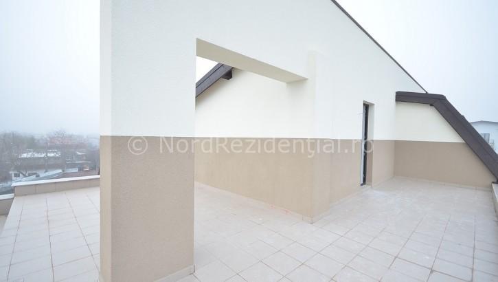 Apartament de vanzare 2 camere cu terasa Bucurestii Noi
