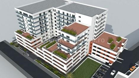 Apartamente 2 camere 1 Mai Banu Manta